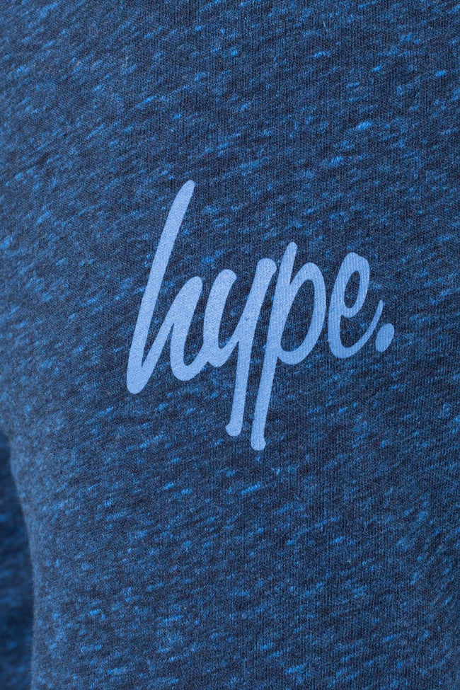 HYPE GREY WITH NAVY SCRIPT KIDS PYJAMA SET