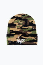 HYPE JUNGLE CAMO SCRIPT BEANIE