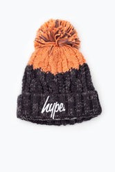 HYPE APRES SKI GREY BLUSH BEANIE