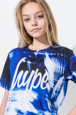 HYPE BLUE MOTION KIDS T-SHIRT
