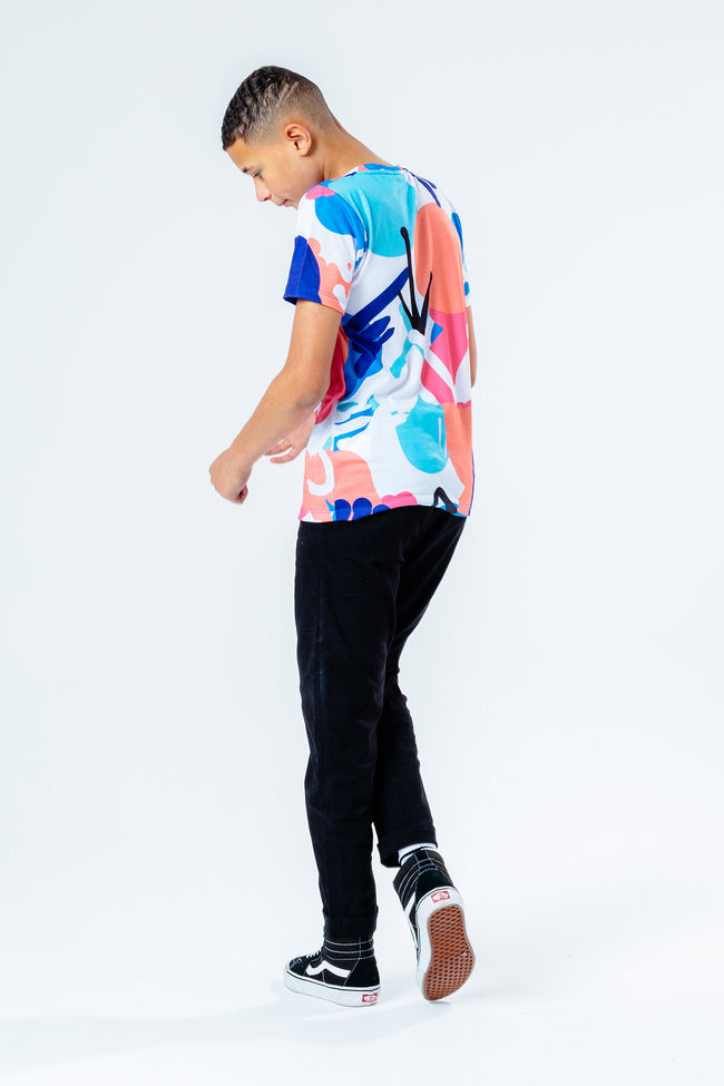HYPE MULTI SQUIGGLE KIDS T-SHIRT
