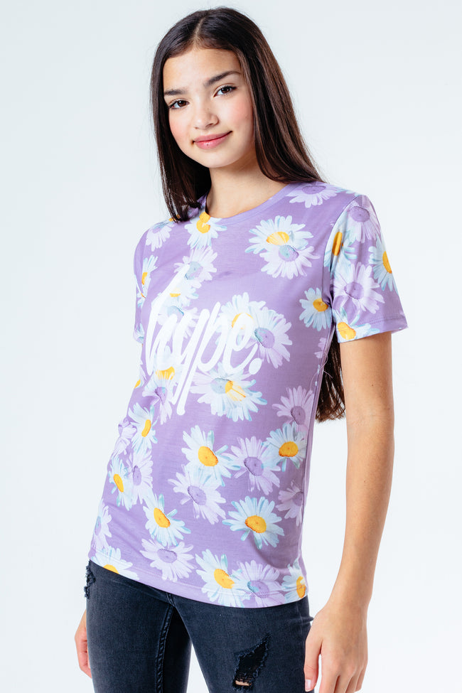 HYPE MULTI DAISY KIDS T-SHIRT