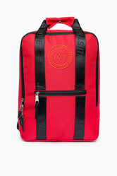 HYPE RED BOXY BACKPACK