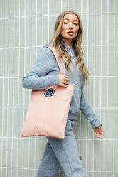 HYPE BLUSH TOTE BAG