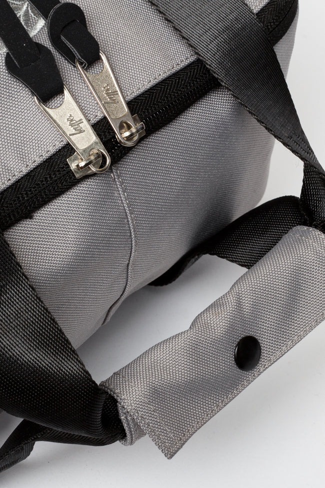 HYPE GREY BOXY BACKPACK