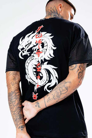 HYPE LEGO NINJAGO JH DRAGON ADULT T-SHIRT
