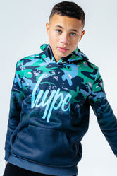 HYPE CAMOUFLAGE FADE KIDS PULLOVER HOODIE