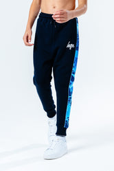 HYPE BLUE PAINT SPLASH KIDS JOGGERS