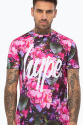 HYPE FLOWER BED MENS T-SHIRT