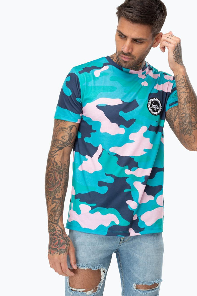 HYPE SUMMER CAMO MENS T-SHIRT