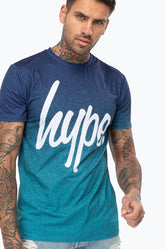 HYPE WAVE SPECKLE FADE MENS T-SHIRT