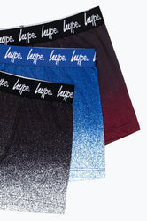 HYPE FADED SPECKLE MEN'S BOXER SHORTS X3 PACK