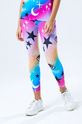 HYPE RAINBOW MYSTIC AOP KIDS LEGGINGS