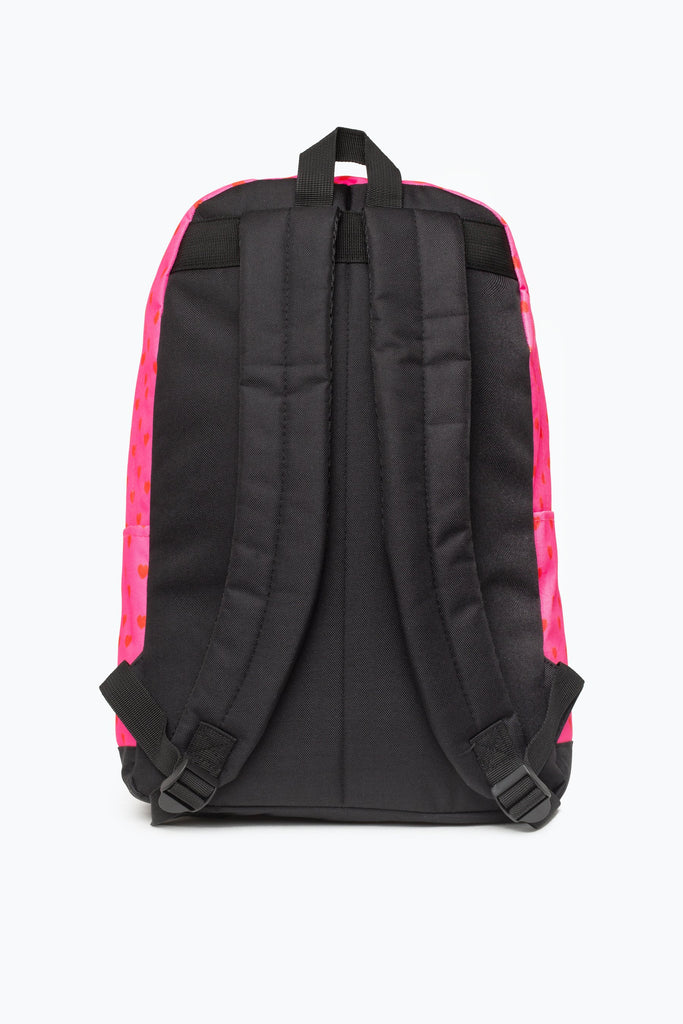 HOT PINK LOVE HEART CORE BACKPACK | Hype.