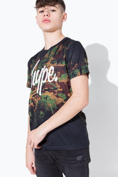 HYPE ARMY CAMO DRIPS KIDS T-SHIRT