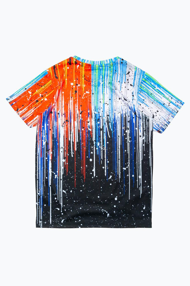 HYPE SPLIT PAINT DRIPS KIDS T-SHIRT
