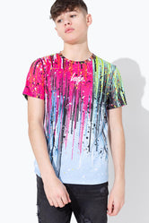 HYPE PAINT RAIN DRIPS KIDS T-SHIRT