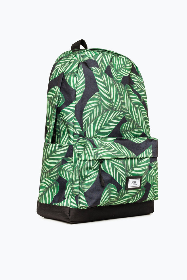 DARK PALM LEAVE CORE BACKPACK