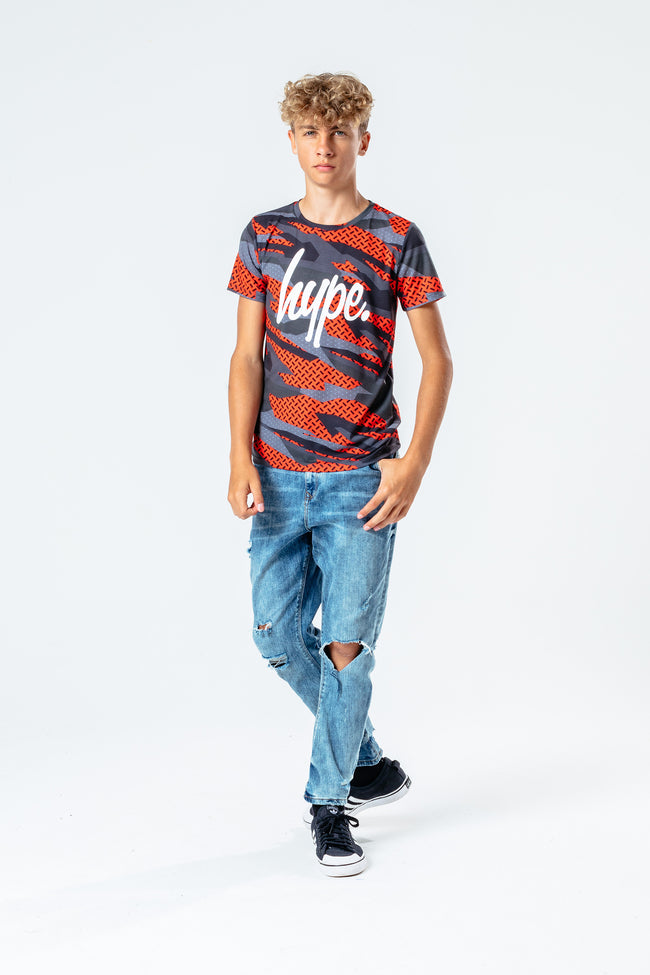 HYPE DIGITAL CAMO KIDS T-SHIRT