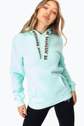 HYPE MINT DRAWSTRING WOMEN'S PULLOVER HOODIE