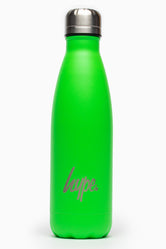 HYPE NEON GREEN POWDER COATED BOTTLE