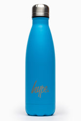 HYPE NEON BLUE POWDER COATED BOTTLE