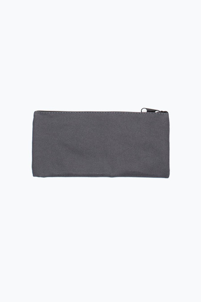HYPE GREY CREST FLAT PENCIL CASE