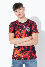 HYPE RED LAVA KIDS T-SHIRT
