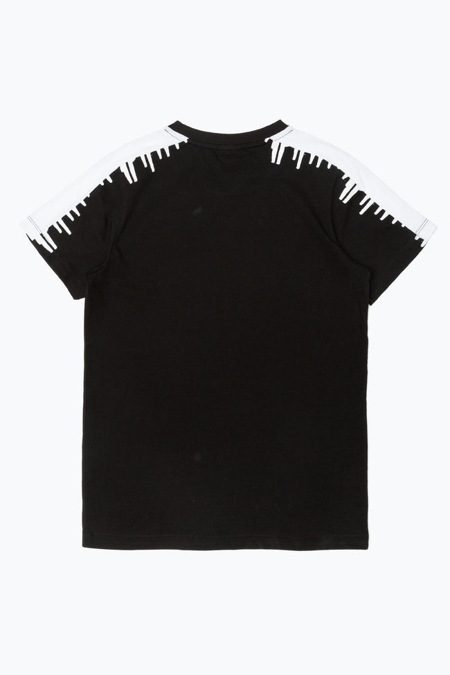 HYPE BLACK DRIP STRIPE KIDS T-SHIRT