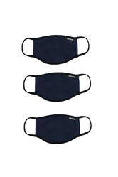 HYPE 3X ADULT NAVY FACE MASK SET