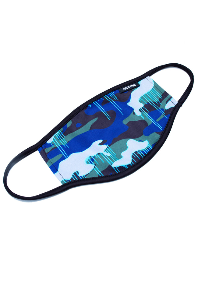HYPE ADULT CAMO DRIPS FACE MASK