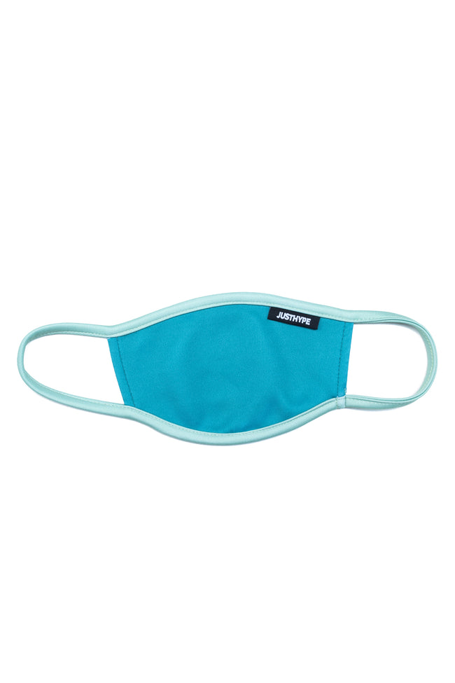 HYPE ADULT BLUE & MINT FACE MASK