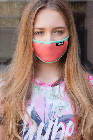 HYPE KIDS PINK & BLUE FACE MASK