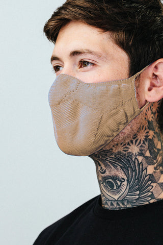 HYPE ADULT SAND KNIT FACE MASK