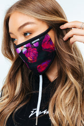 HYPE ADULT ROSES DREAM FACE MASK