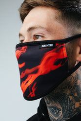 HYPE ADULTS FLAMES FACE MASK