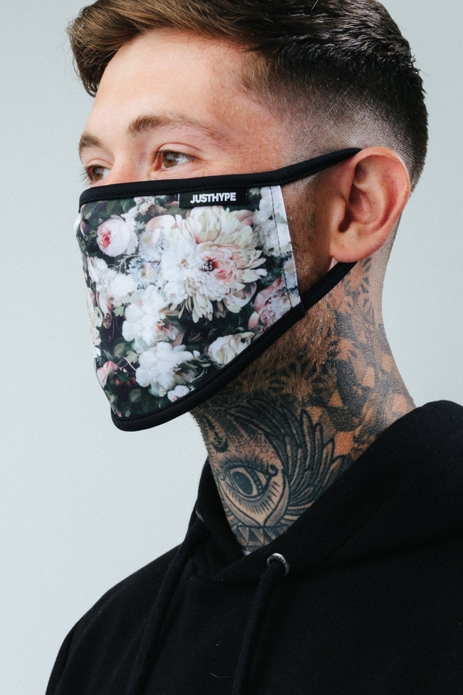 HYPE ADULT GARDENIA FACE MASK
