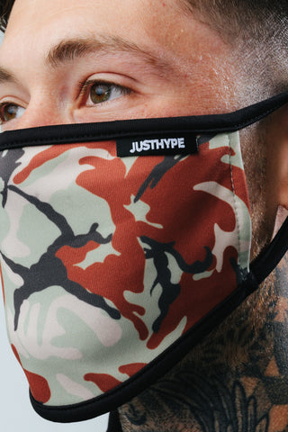 HYPE ADULT THIN CAMO FACE MASK