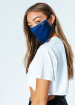 HYPE ADULT NAVY ADJUSTABLE FACE MASK