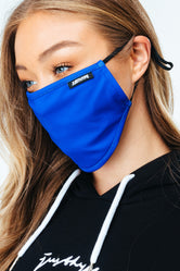 HYPE ADULT BLUE ADJUSTABLE FACE MASK