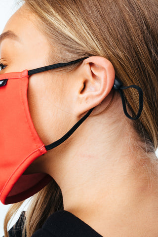 HYPE ADULT RED ADJUSTABLE FACE MASK