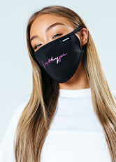 HYPE ADULT FOIL SIGNATURE FACE MASK