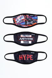 HYPE 3X KIDS SQUAD FACE MASK SET
