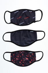 HYPE 3X ADULT LOGO PETALS FACE MASK SET