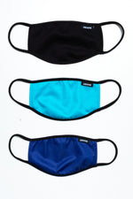 HYPE 3X ADULT MONO AQUA FACE MASK SET