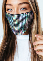 HYPE ADULT HOLO TECH FACE MASK
