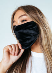 HYPE ADULT BLACK VELVET FACE MASK