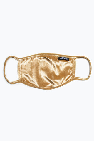 HYPE ADULT GOLD VELVET FACE MASK