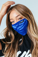 HYPE ADULT NAVY VELVET FACE MASK