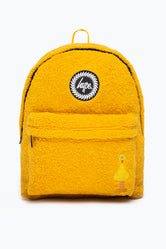 HYPE X SESAME STREET BIG BIRD YELLOW BORG BACKPACK